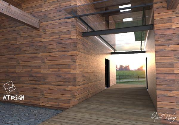 Image wood house