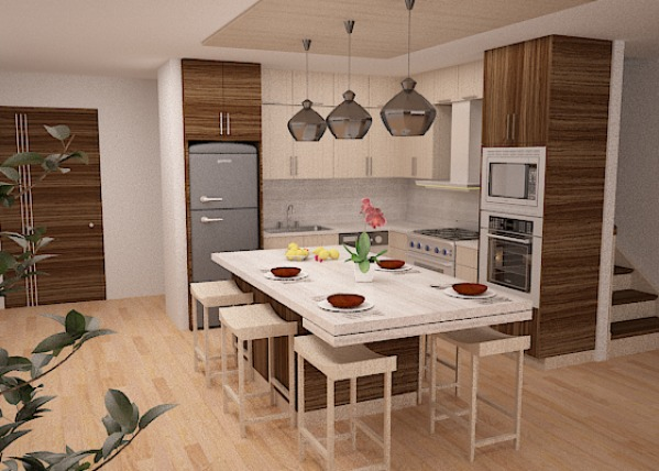 Image Option 1 - Kitchen - D...