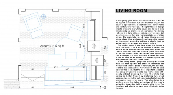 Image PLAN - LIVING ROOM