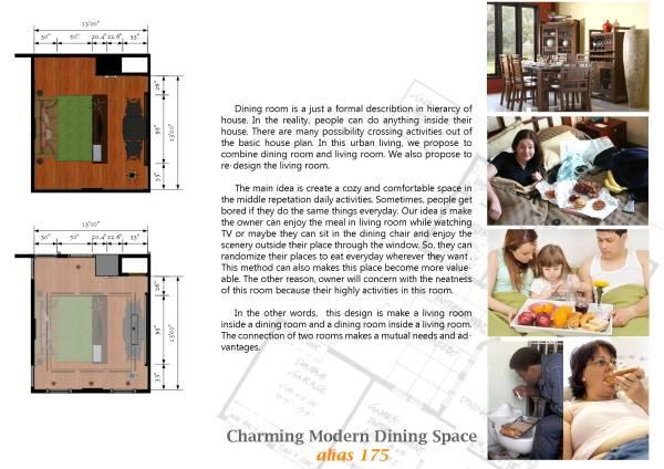 Image Charming Modern Dining... (2)