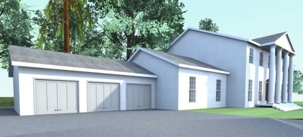 Image Remodel + 3-car Garage