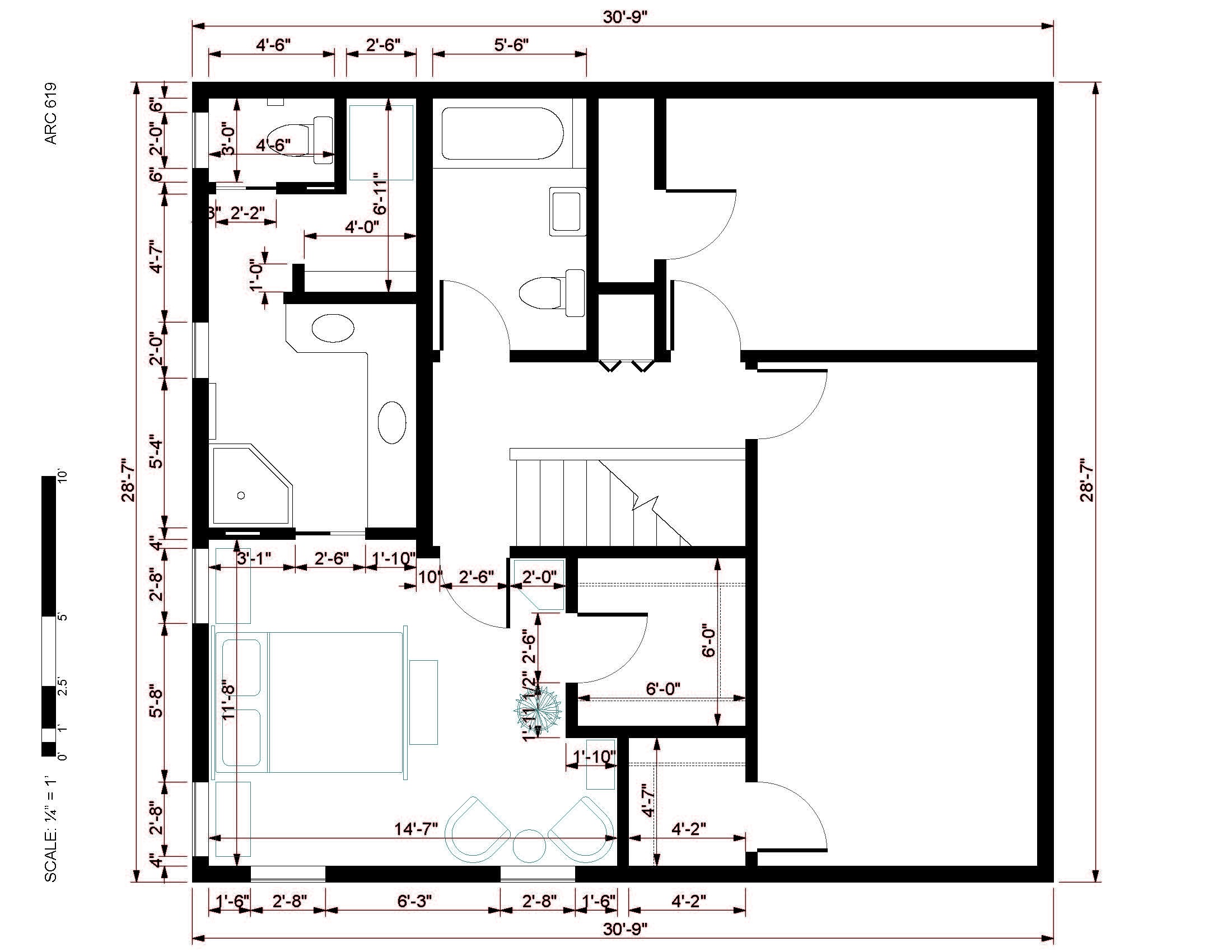 Other designed by brian cronin master suite addition for Master suite addition floor plans