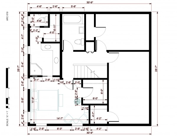 Other designed by brian cronin master suite addition for Addition floor plans