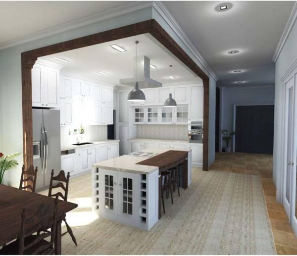 Image Hacienda Style Kitchen