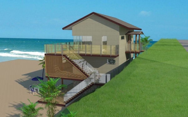 Image Seaside cottage elevat... (1)