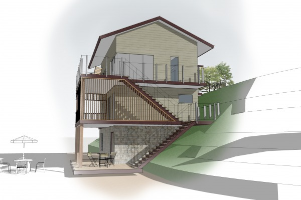 Image Seaside cottage elevat... (2)