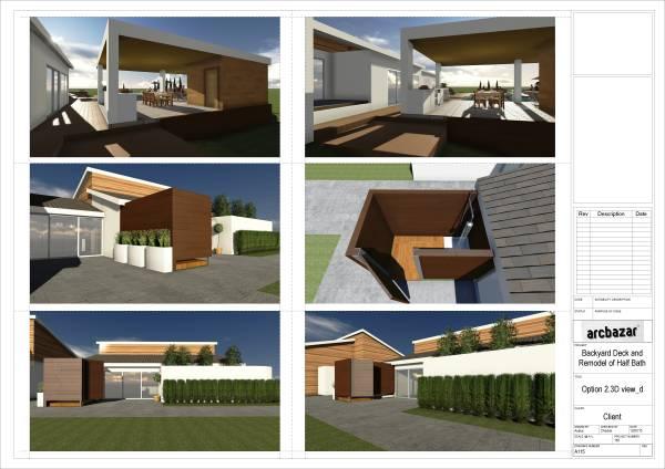 Image New Backyard Deck and ... (2)
