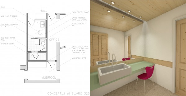 Image First floor concept