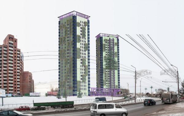Image Dwelling complex LUKOM...