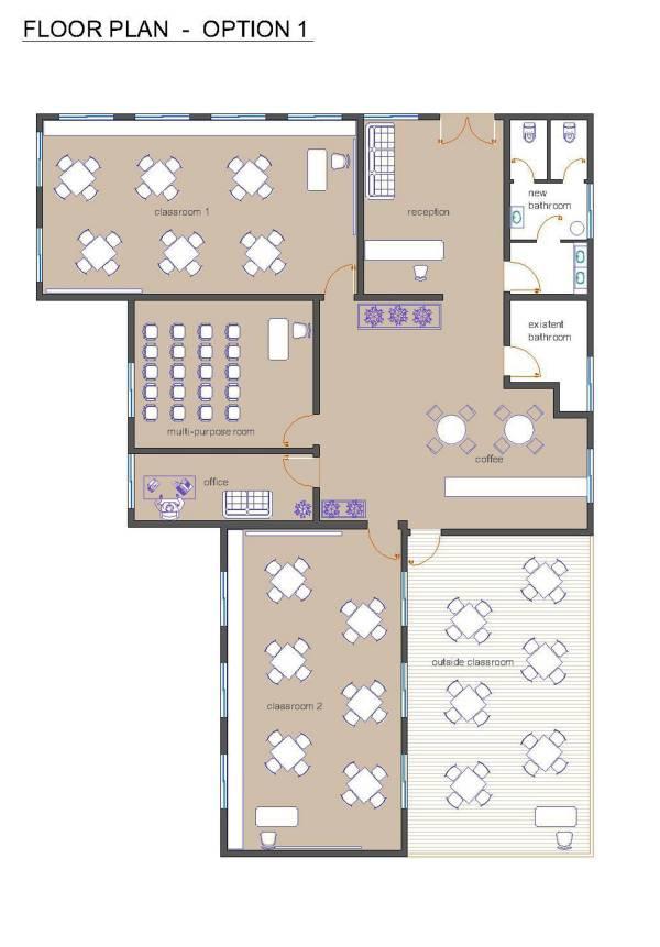 Floor Plan- Option1
