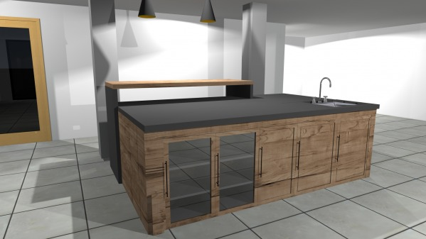 Image Kitchen Counter Remodel