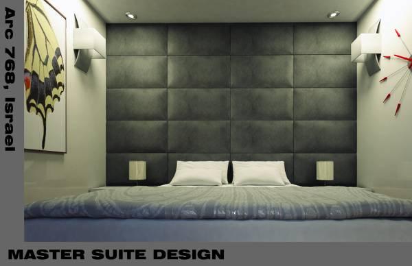 1. Master Suite Design