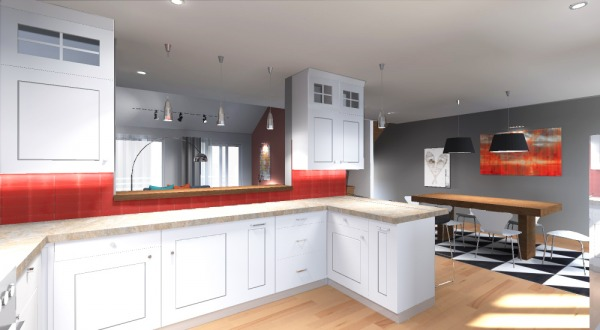 Image Kitchen, bar counter o...