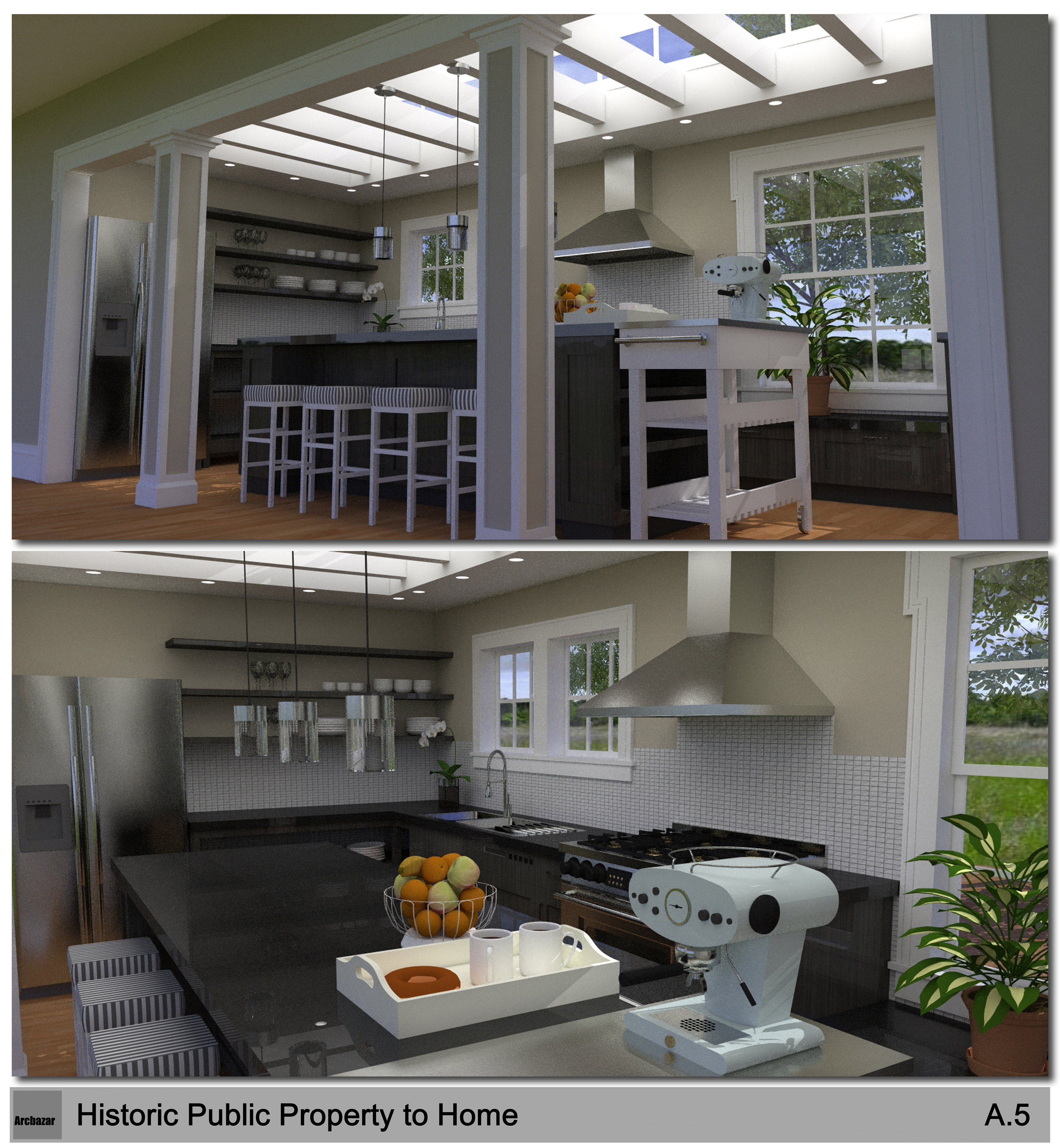 Kitchen design project designed by ziese hsieh for V kitchen ann arbor address