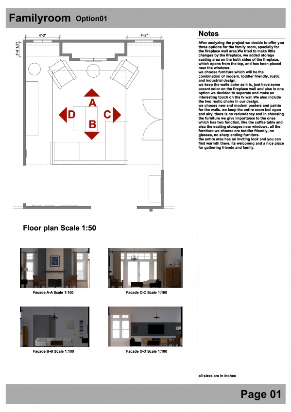 Image Option 01 floor plan/ ...
