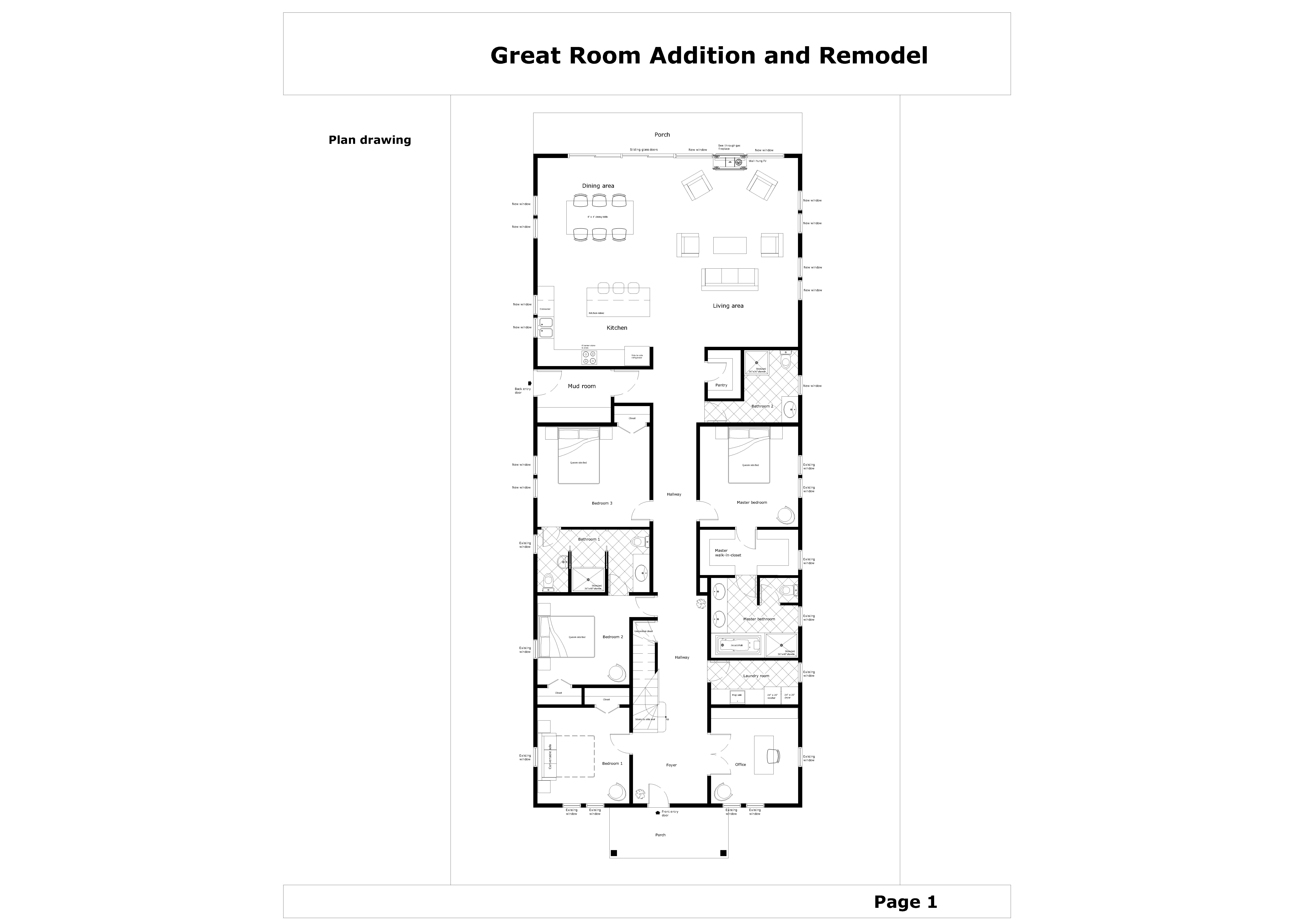 Floor Plans Project Designed By Gordana Potezica Great