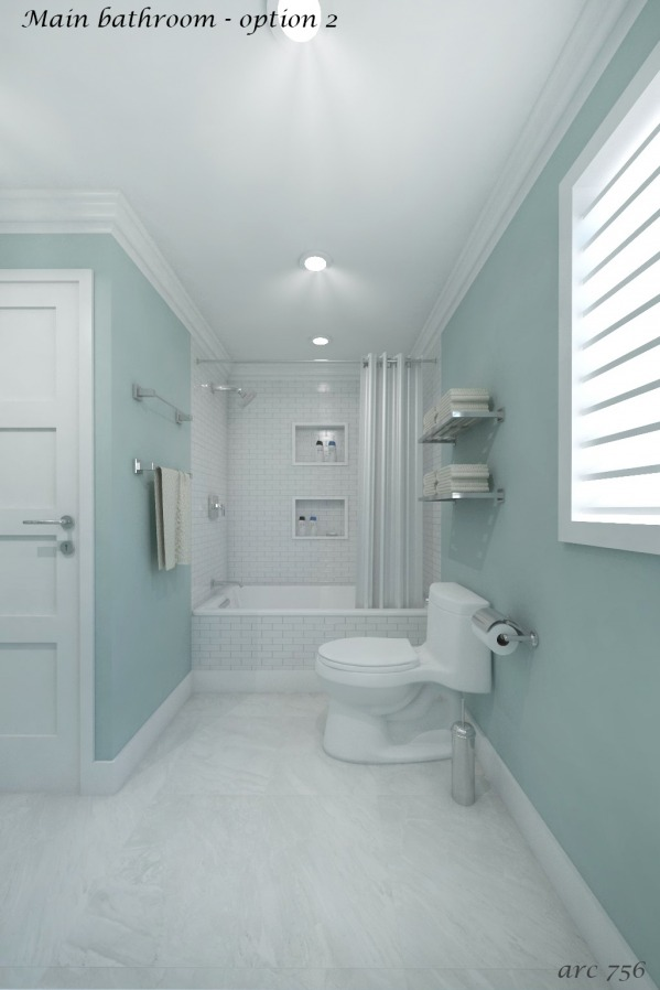 Image Powder Room & Main Bath (2)