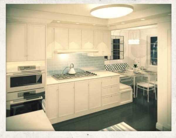 Image Awkward kitchen remode...