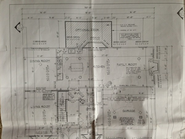 Image blueprint of the house...