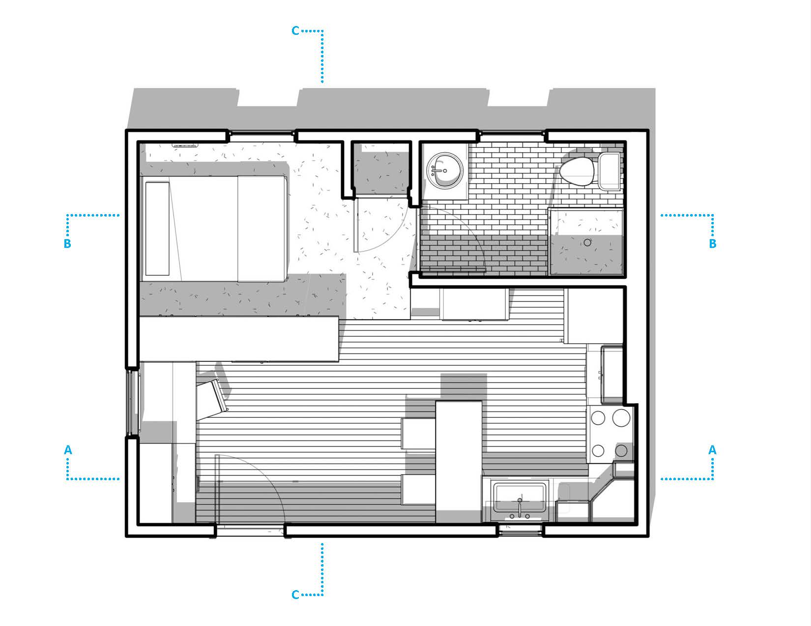 Viewdesignerproject projecthome makeover for Studio floor plans 300 sq ft