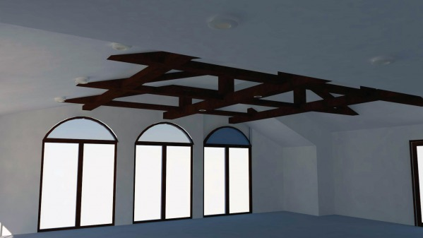 Image Wood ceiling beams (2)