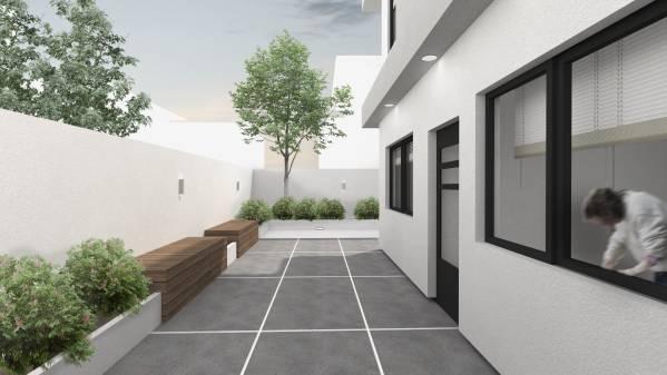 Image Back terrace impression