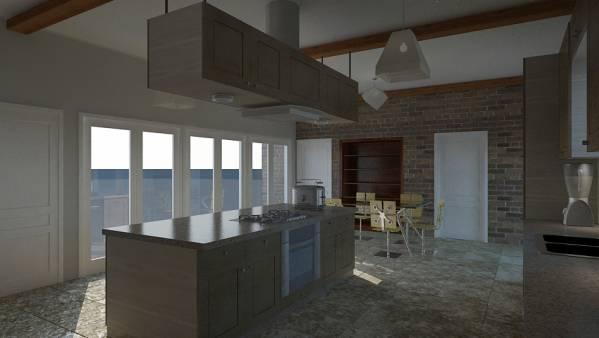 Image Hacienda Style Kitchen (2)