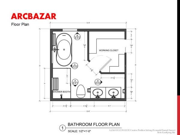 Image Bathroom Floor Plan