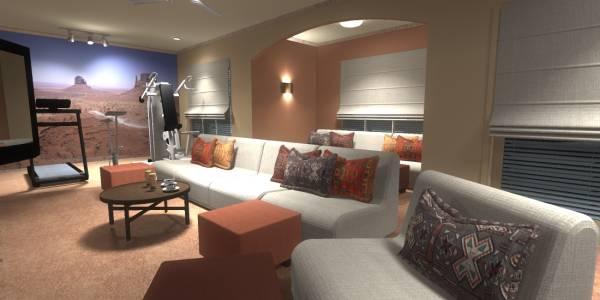 Image Basement Family Room