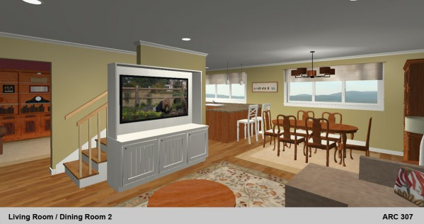 Living Dining 2 Rendering