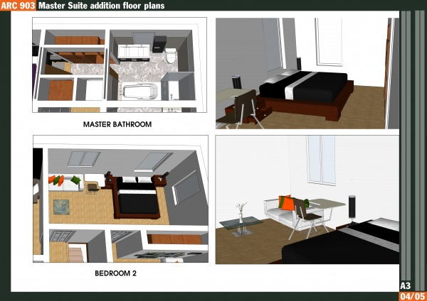 Other Designed By Qarch Team Master Suite Addition Floor Plans Minneapolis Us Arcbazar