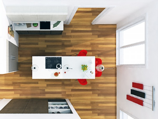 Image Kitchen remodel - Floo...