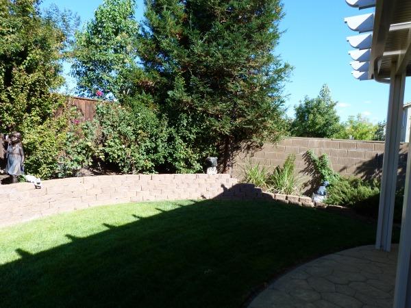 Image right corner of yard