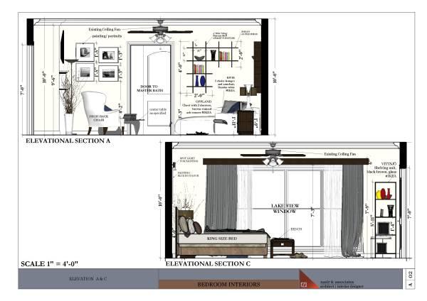Bedroom Designed By Nasir Associates