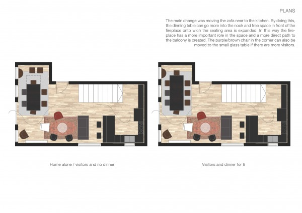 Image Design living room/din... (2)