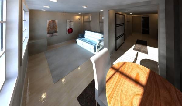 3D - Living Room