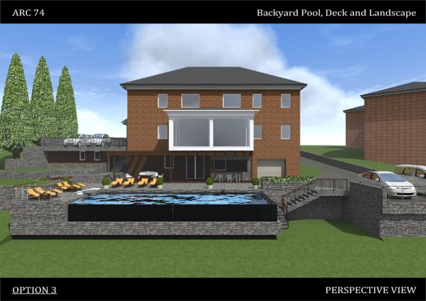 Image Backyard Pool, Deck an... (1)