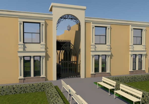 Curb appeal designed by elena tulinova help me design for Help me decorate my apartment