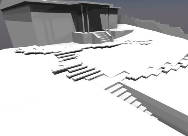 Paver layout