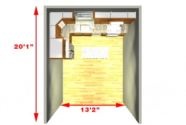 Image Kitchen Dimensions
