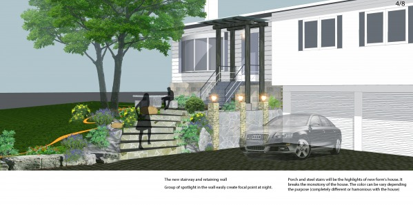 Image Suburban landscape design (2)