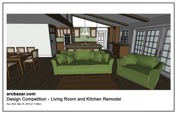 Image Living Room and Kitchen