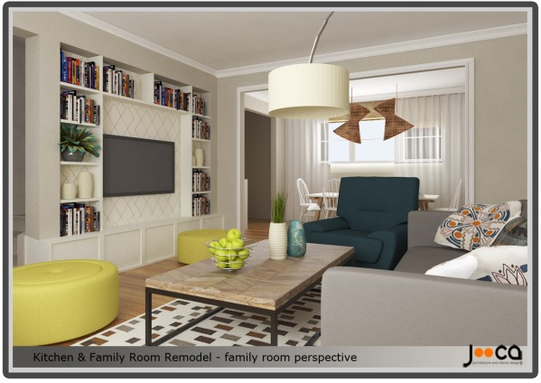 Image Kitchen & Family Room ...