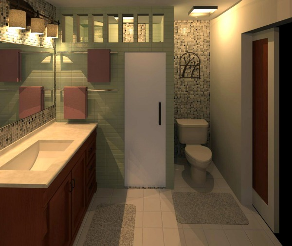 Rendering from Closet