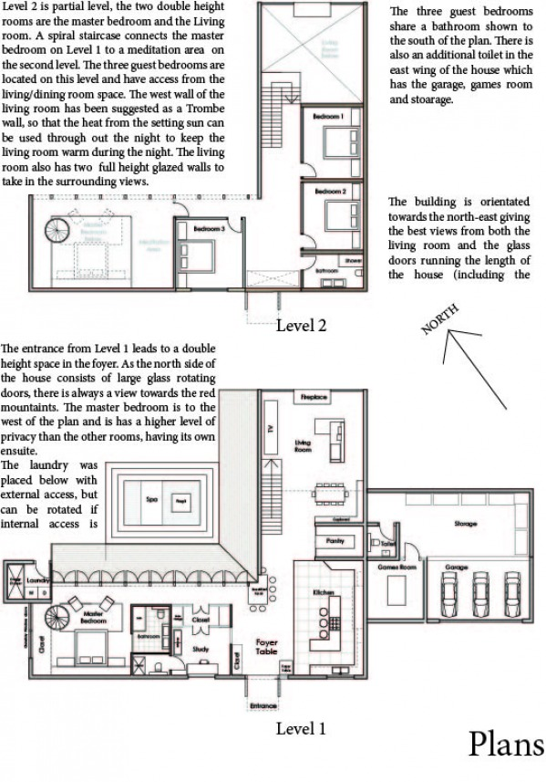 Image Floor plans and summar...