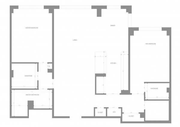 Image Plan with dimensions