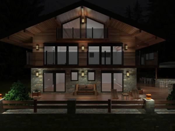 Image Chalet Exterior Design