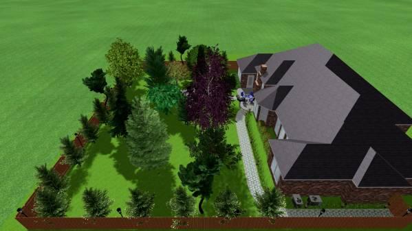 Image Backyard landscape (2)