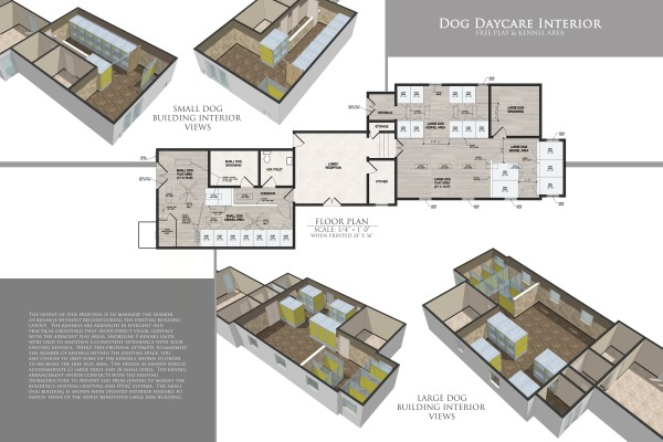 Dog Daycare - Scale: 1...