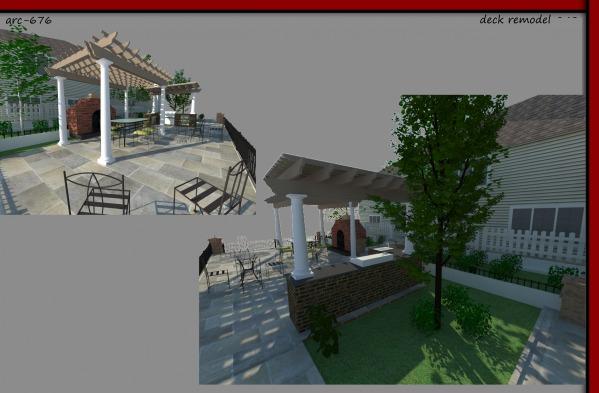 Image render eye level